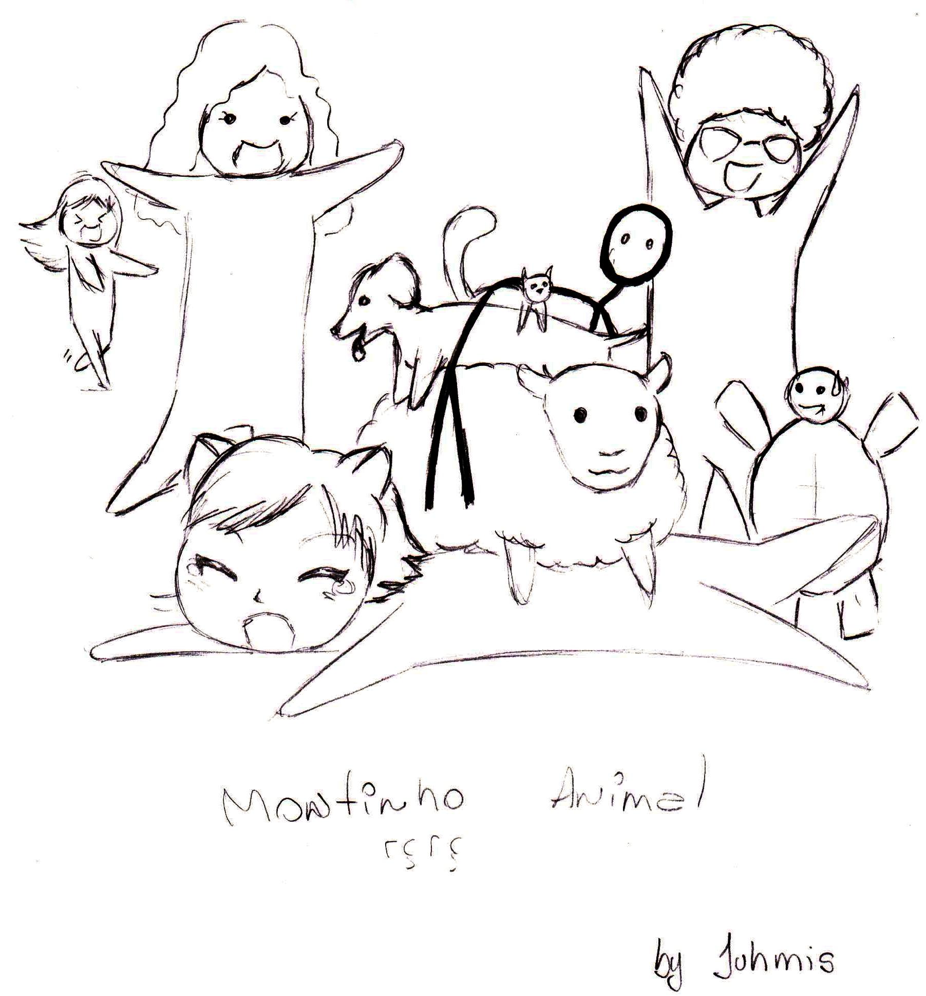 Dia Do Amigo Meus Desenhos